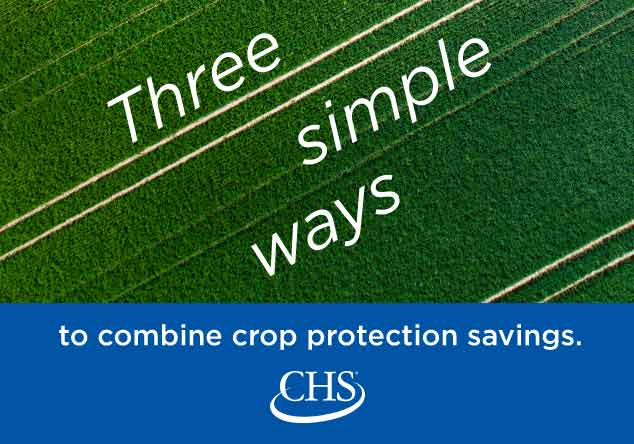 Three simple ways to combine crop protection savings