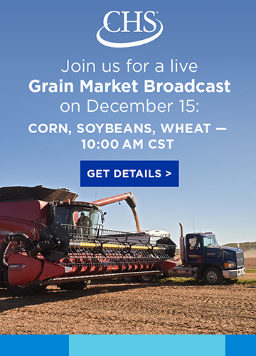 Click to learn more about Grain Market Broadcasts